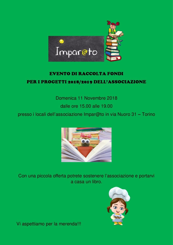 EVENTO DI RACCOLTA FONDI LIBRI-001